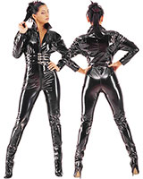 Gloss PVC Catsuit with Zipper