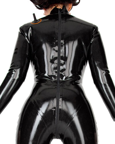 Inflatable Latex Catsuit for Ladies