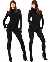 Stretch Catsuit with Gloves and Feet