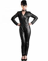 Leather Racer Catsuit