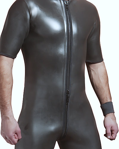 Neoprene Short Suit with 3 Way Zipper