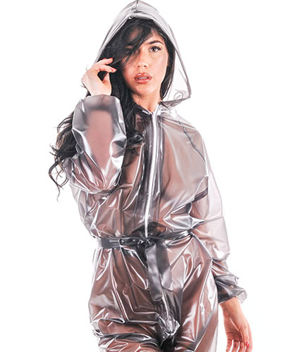 PVC Hooded Suit Unisex