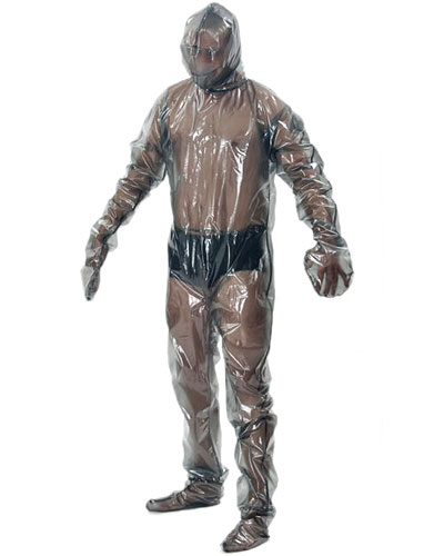 PVC Total Suit with Hood